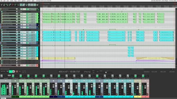 A-Format Hörspiel in Reaper