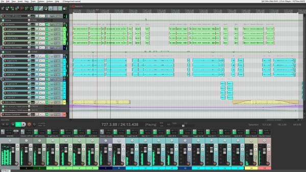 B-Format Hörspiel in Reaper