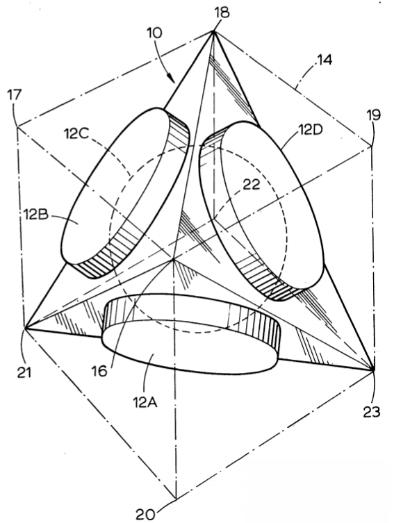 Anordnung der Mikrofonkapse